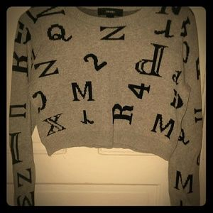 Forever 21 Cropped Sweater (S)